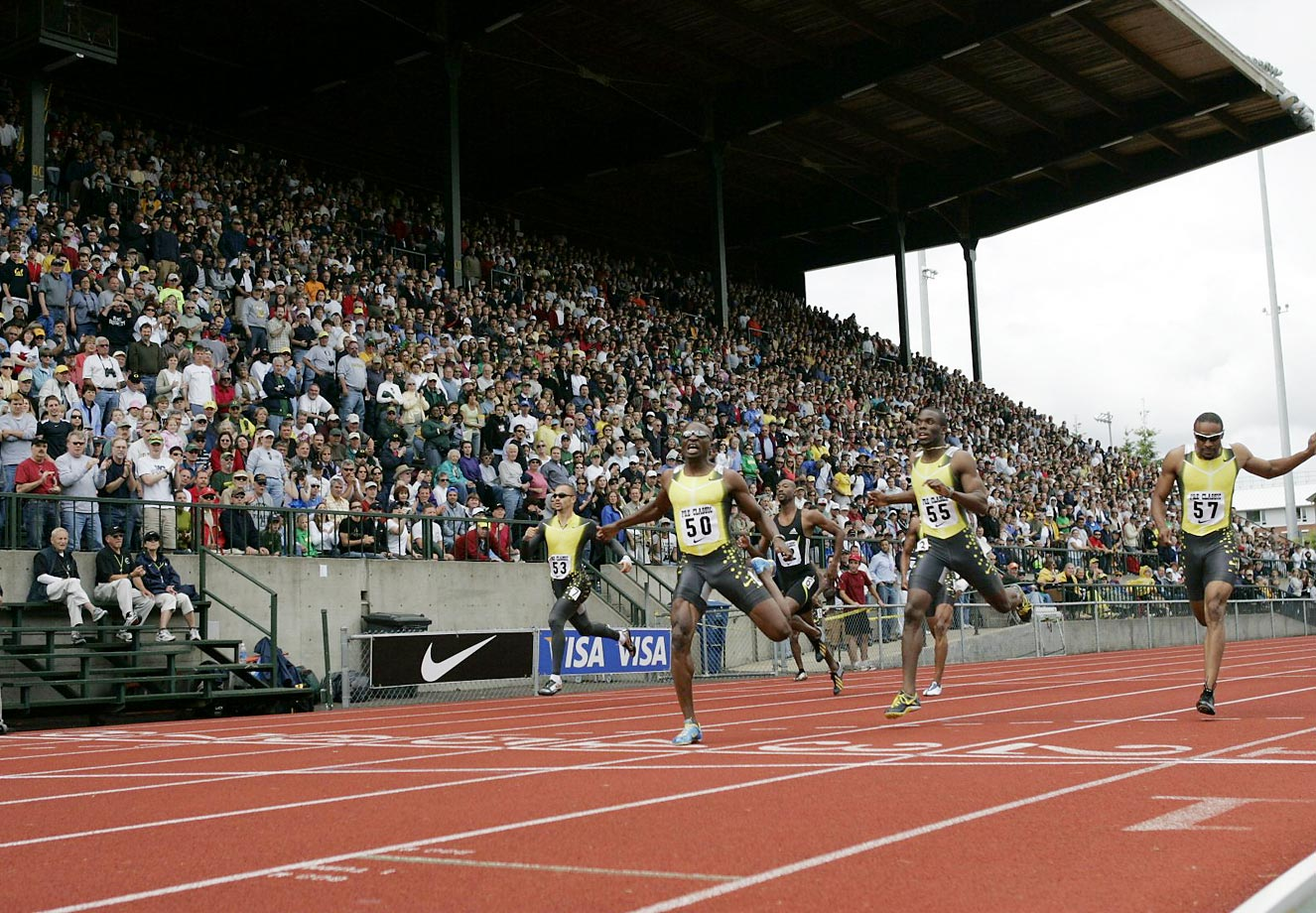 Competitors at the 2007 Prefontaine Classic.