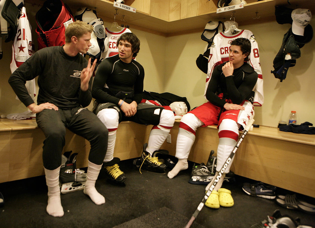 January 22, 2007 — NHL All-Star Game practice