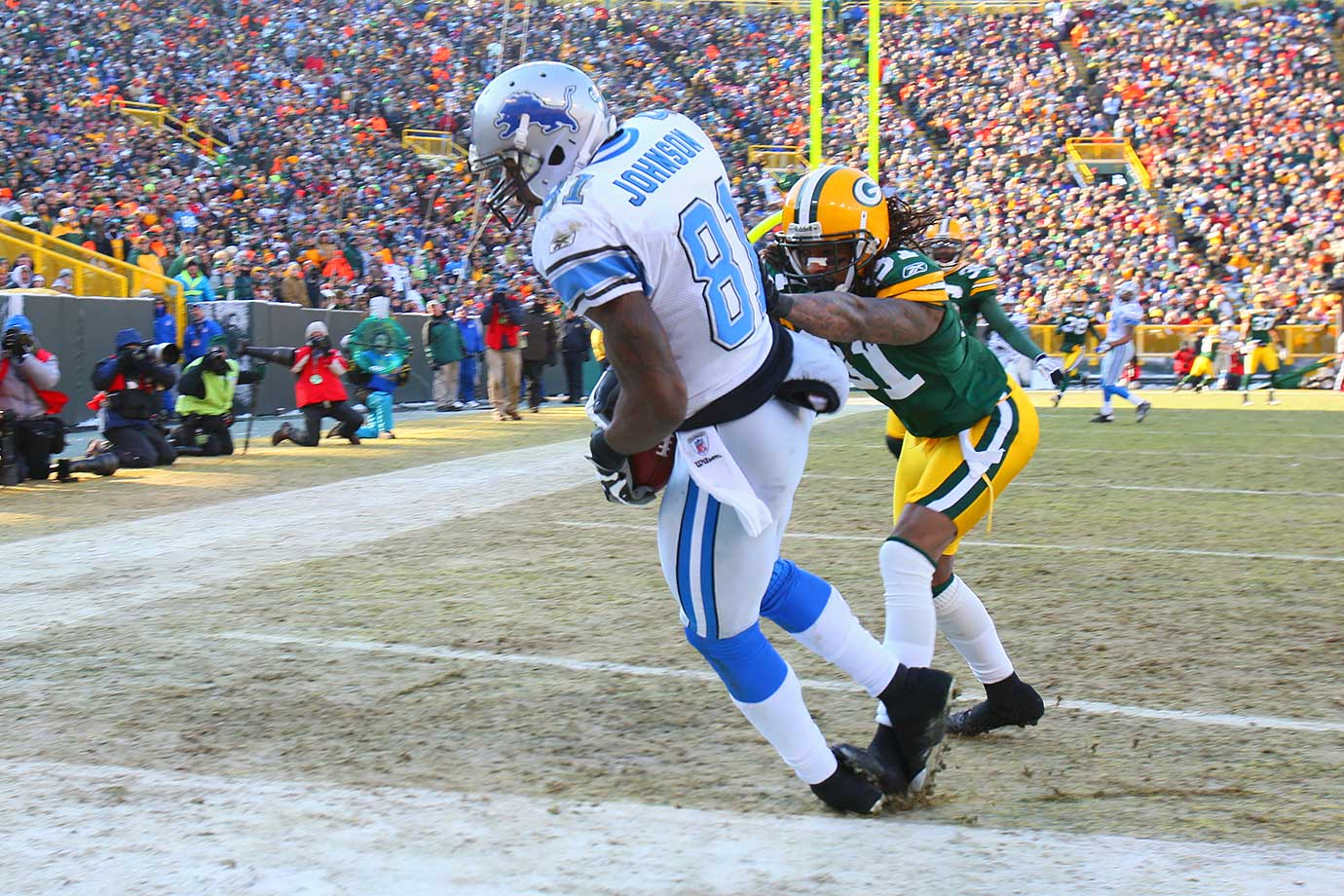 Dec. 28, 2008 — Detroit Lions vs. Green Bay Packers