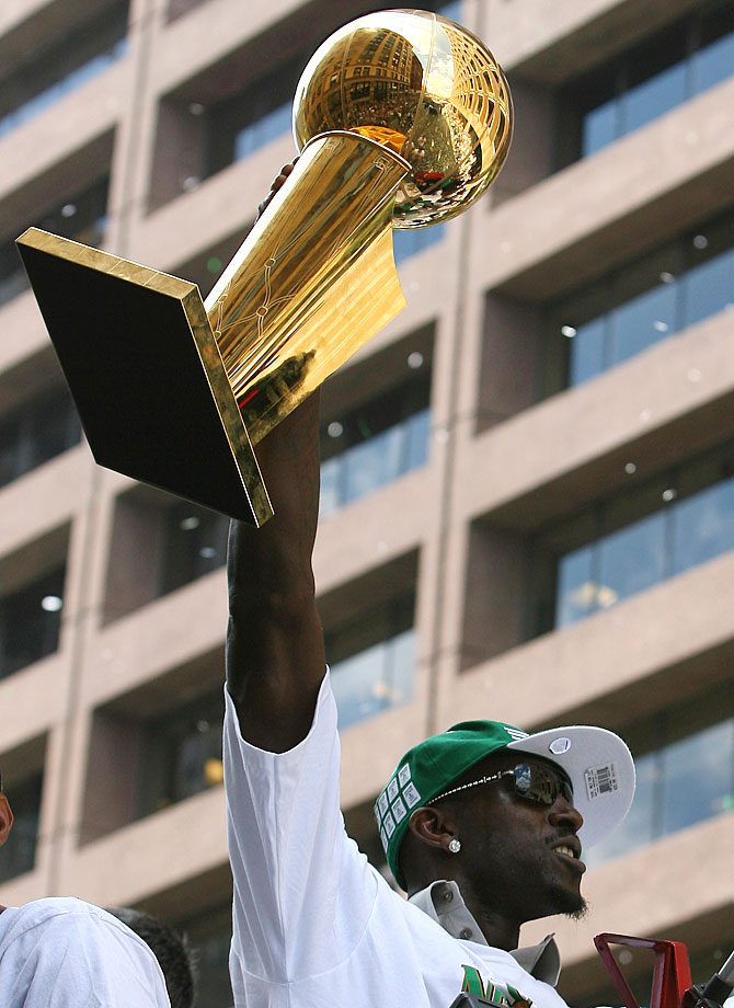 A 15-time All-Star, Garnett finally won his first and only championship in 2008 with the Boston Celtics.