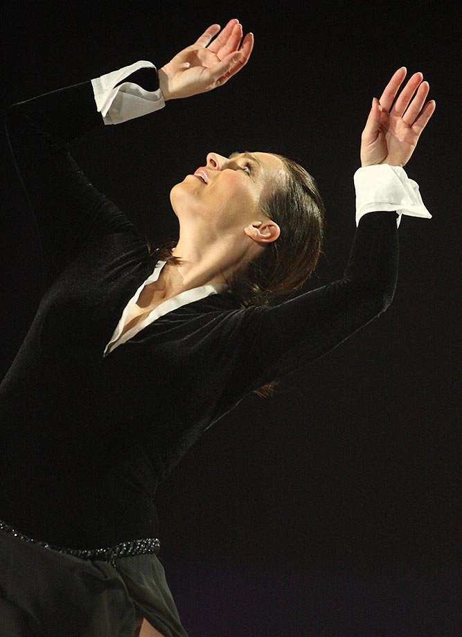 Feb. 16, 2008 - Katarina Witt's farewell tour in Berlin