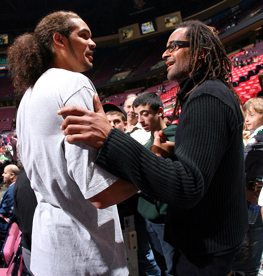 Championships run in this family: Yannick won the 1983 French Open while Joakim led Florida to two NCAA men's basketball titles. Joakim has named an NBA All-Star twice since being drafted ninth overall by the Chicago Bulls in 2007.