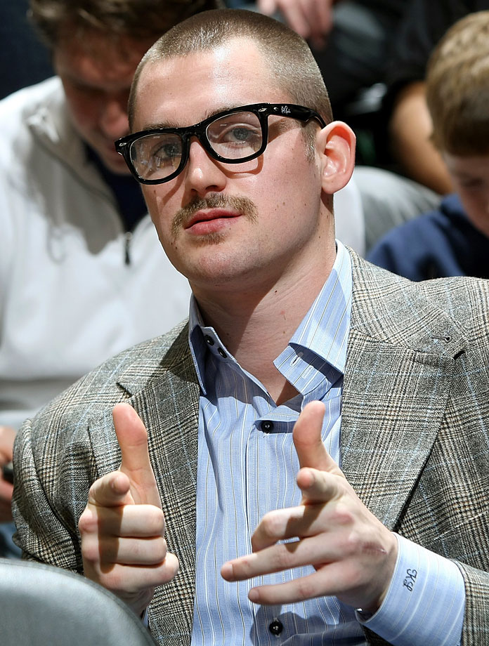 """No, he did not think (at least, we hope he didn't) this was a good look. It was merely """"Kurt Rambis Night"""" at the Target Center."""