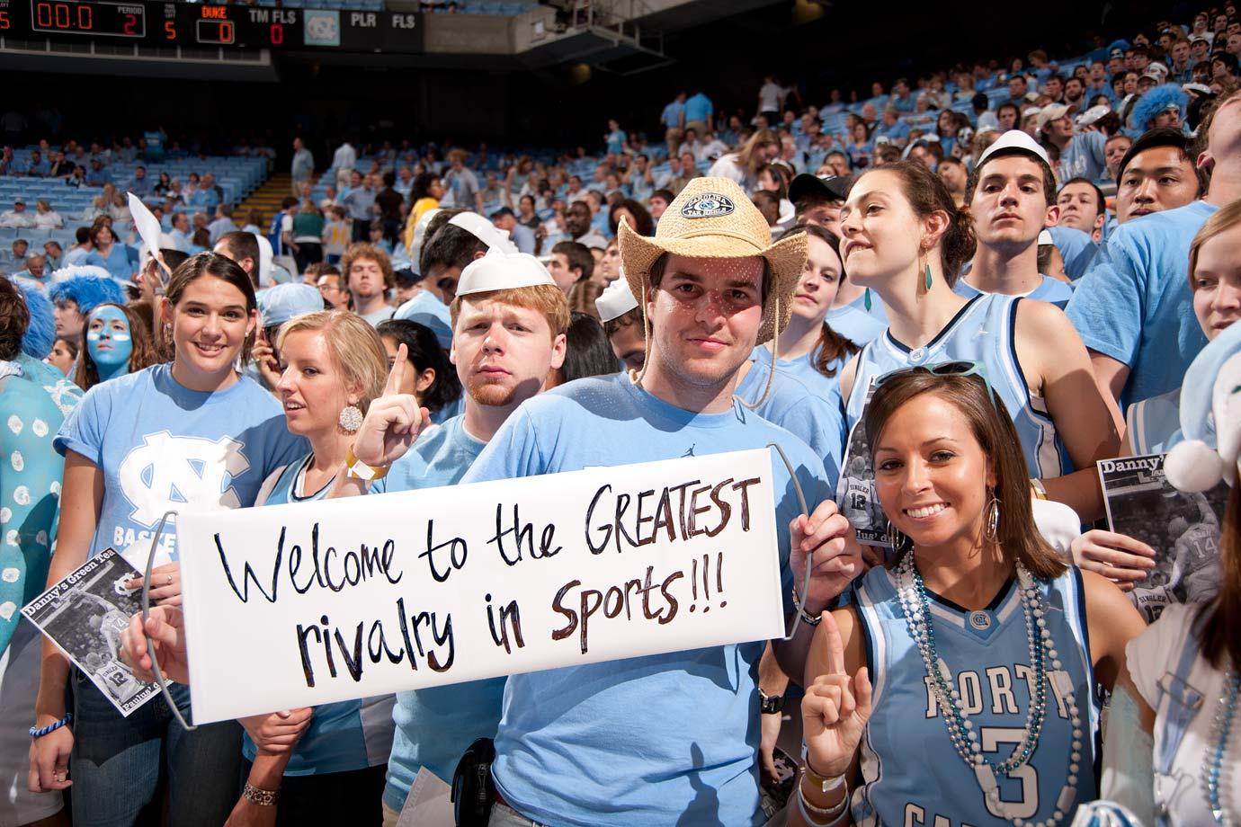 North Carolina fans