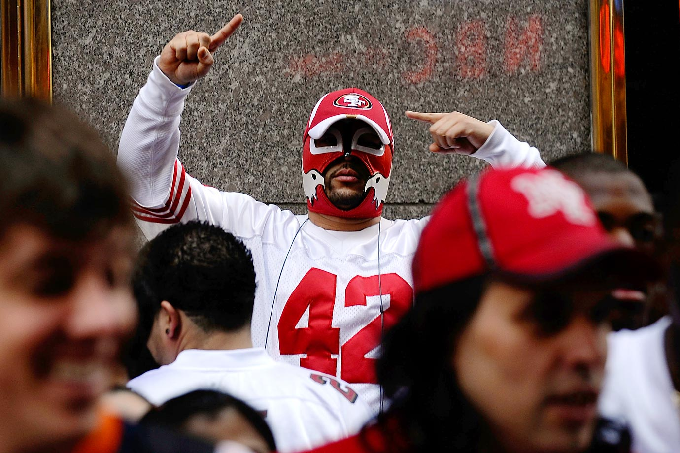 San Francisco 49ers fan in 2009.