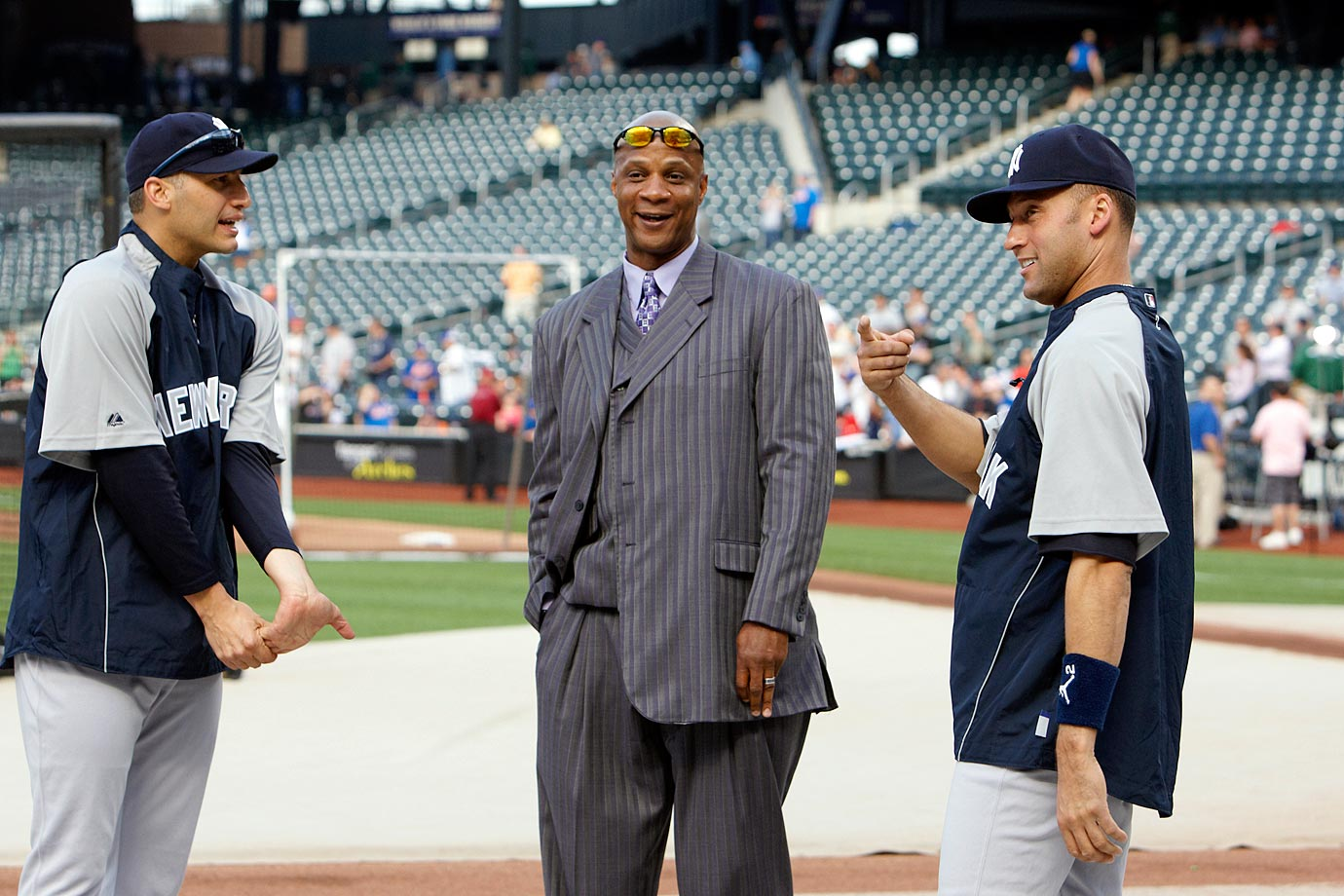 with Derek Jeter and Andy Pettitte