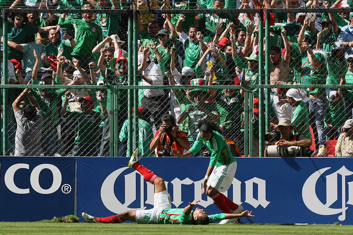 The U.S. took its first-ever lead at Azteca Stadium, but went on to lose 2-1 in what was a critical World Cup qualifier for Mexico. The win changed the tide for the then-struggling Mexican squad, as it went on to go 3-0-1 in its next four matches to earn a trip to South Africa. The U.S. still went on to finish first in CONCACAF qualification.