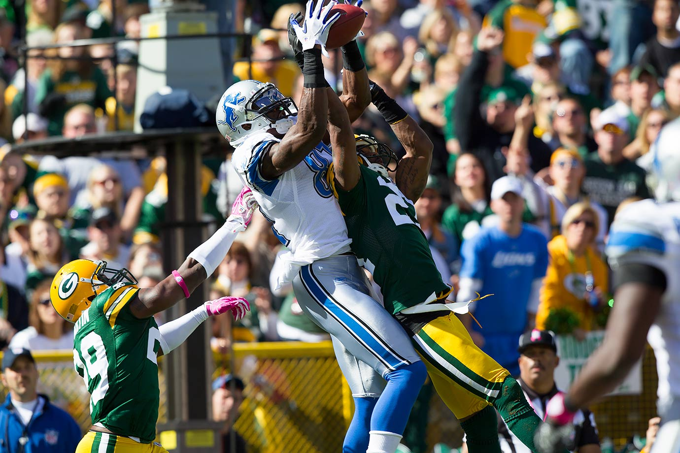 Oct. 3, 2010 — Detroit Lions vs. Green Bay Packers