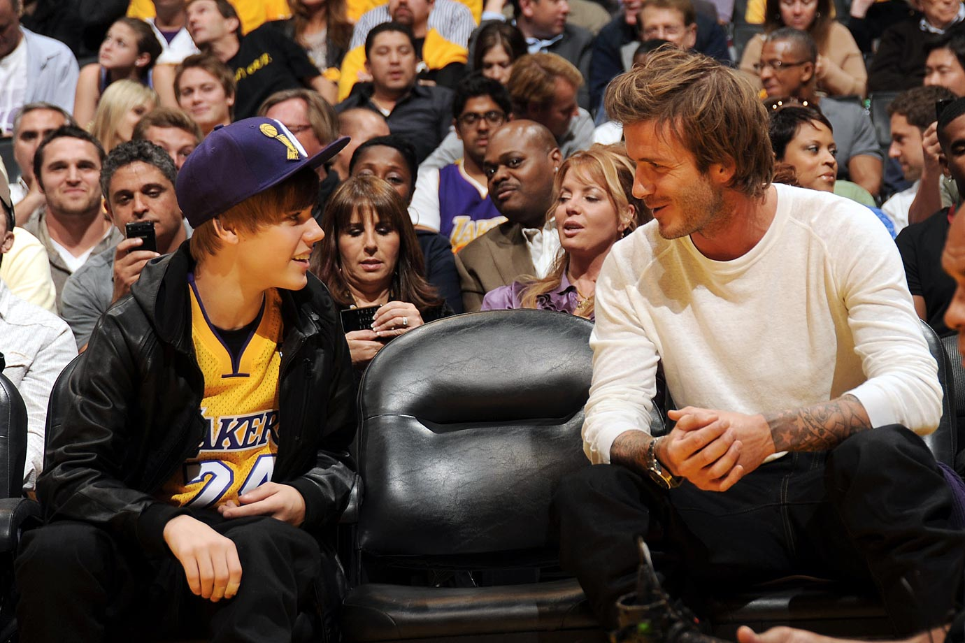 Oct. 26, 2010: Los Angeles Lakers vs. Houston Rockets at Staples Center in Los Angeles