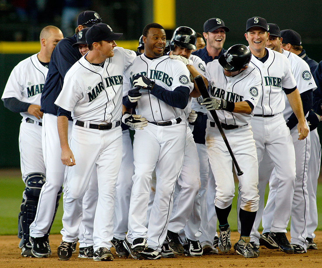 Ken Griffey Jr. would finish his 22-season career where he started, in Seattle. His numbers faltered with the Mariners, however, and the 40-year-old Junior retired on June 2, 2010. Griffey became a lock for the Hall of Fame in 2016. When Junior does enter Cooperstown, though, he will be among an even more select, if less fortunate, fraternity: inductees who never won a World Series.