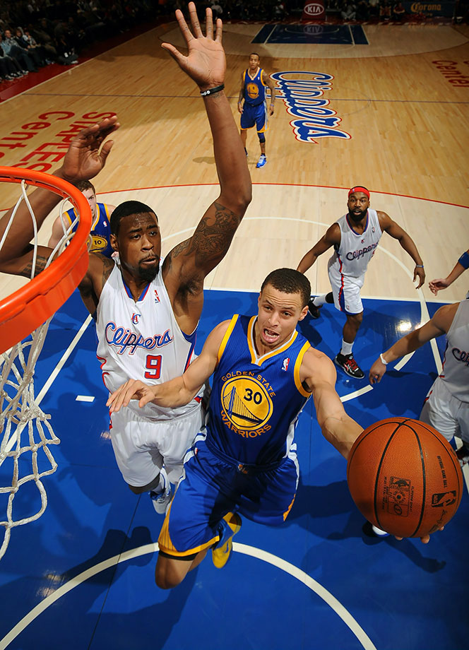 Jan. 22, 2011 — Golden State Warriors vs. Los Angeles Clippers