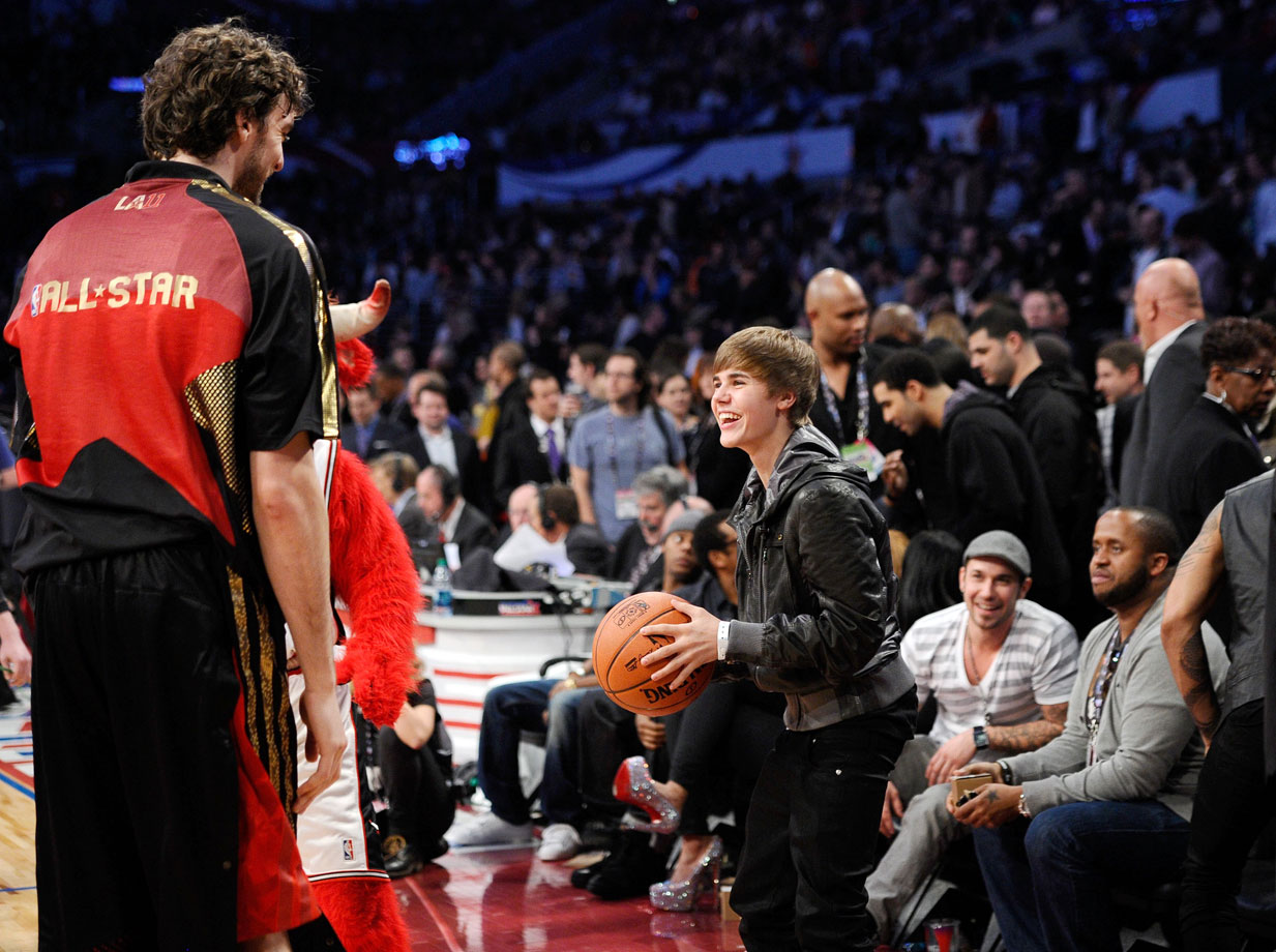 Feb. 20, 2011: NBA All-Star Game at Staples Center in Los Angeles