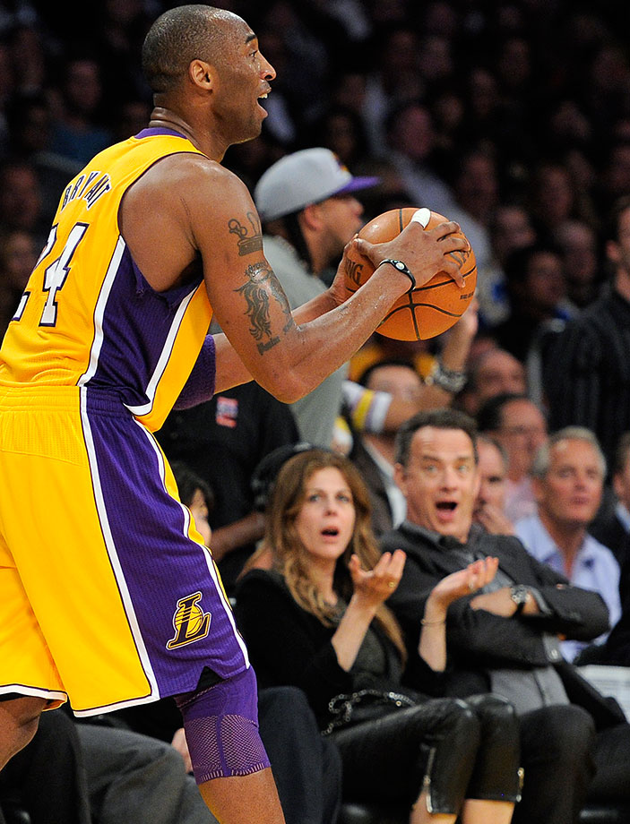 April 20, 2011: New Orleans Hornets at Los Angeles Lakers