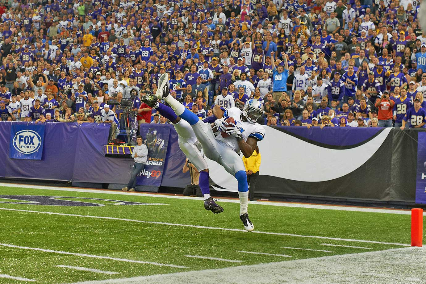 Sept. 25, 2011 — Detroit Lions vs. Minnesota Vikings