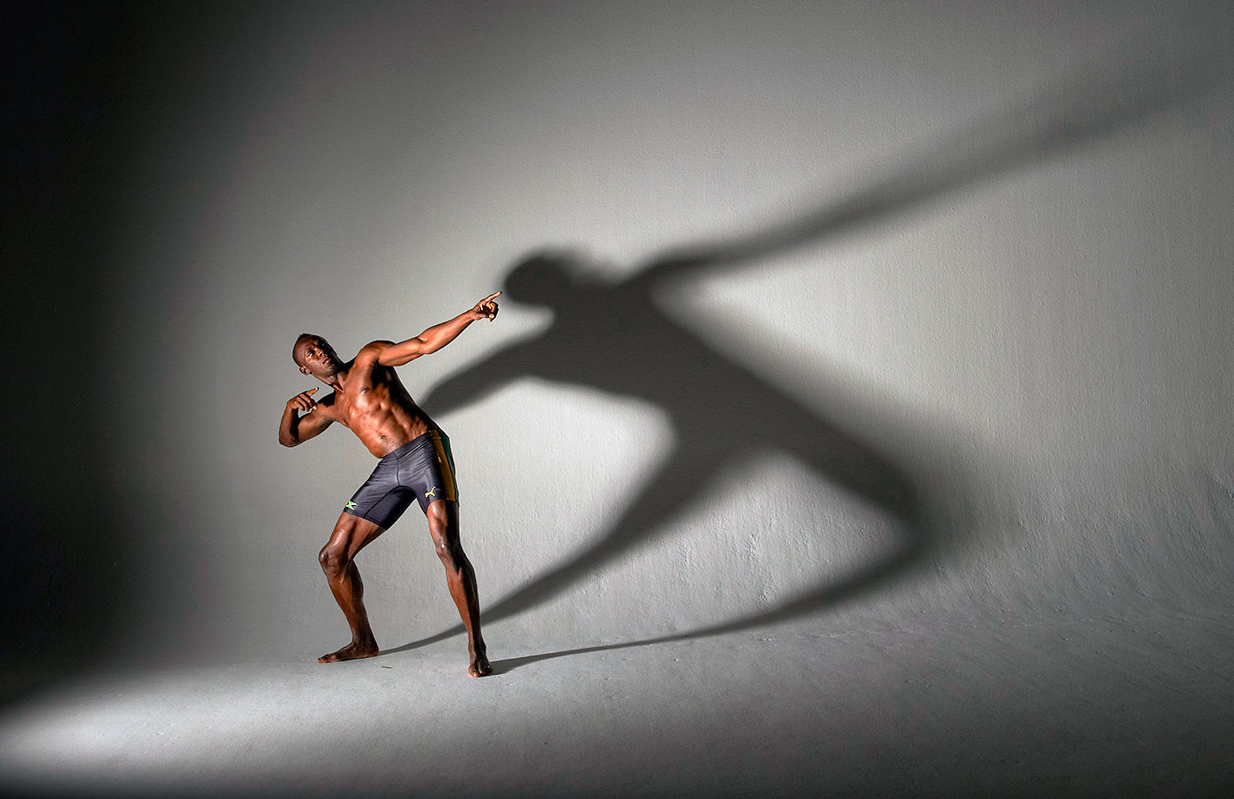 Bolt, captured here during an SI photo shoot, owns three world records, six Olympic gold medals and 11 World Championship gold medals.