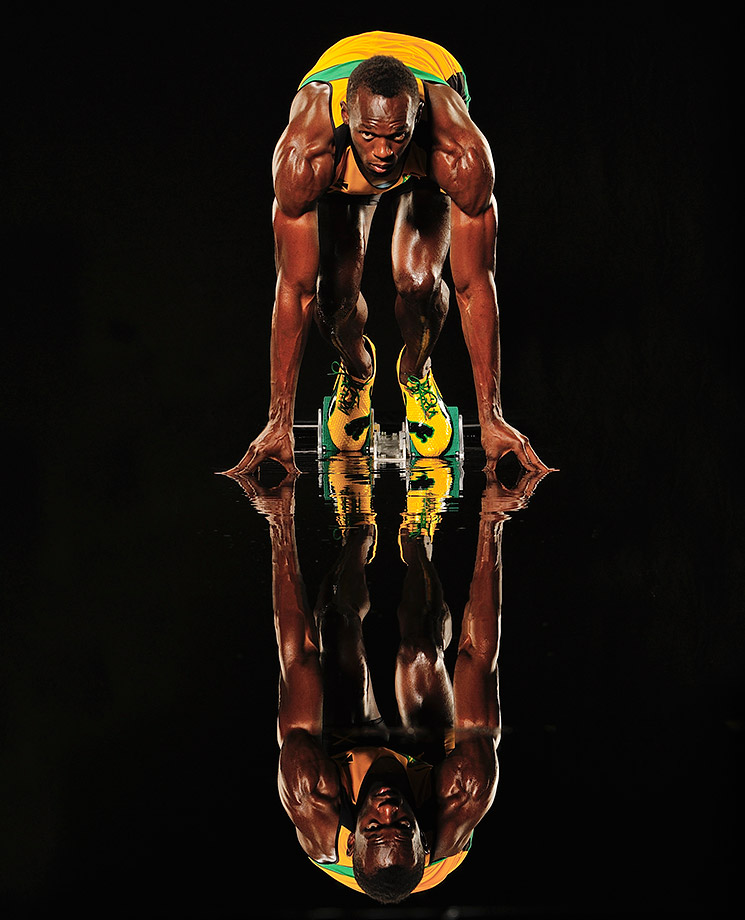 "At 6'5"", 200 pounds and blessed with raw athleticism, Bolt is one of the world's most naturally gifted athletes."
