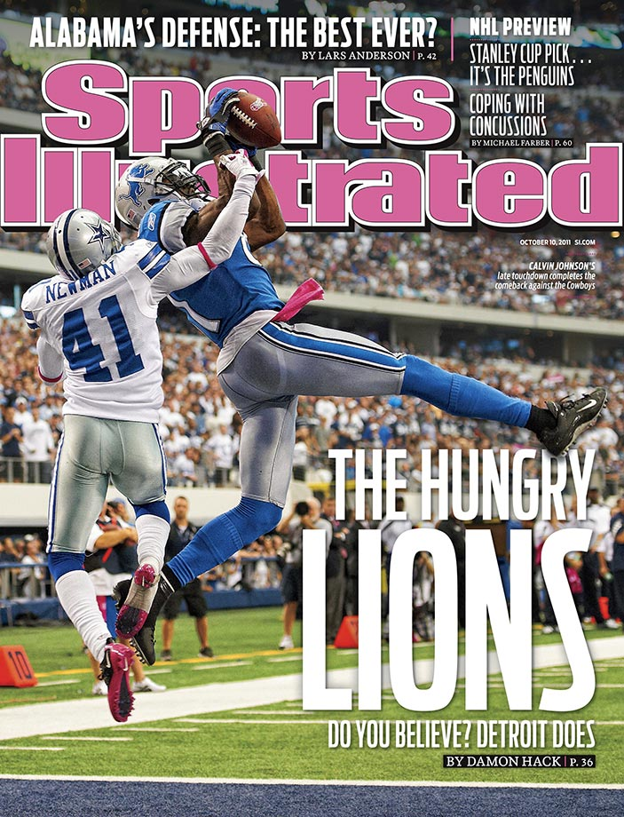 Oct. 2, 2011 — Detroit Lions vs. Dallas Cowboys