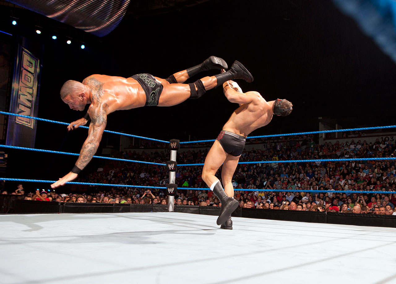 Randy Orton beats Cody Rhodes in a vicious, anything goes Street Fight.