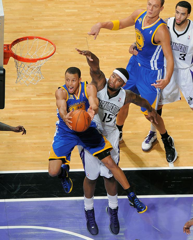 Dec. 20, 2011 — Golden State Warriors vs. Sacramento Kings