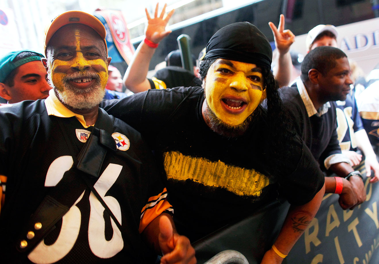 Pittsburgh Steelers fans in 2011.