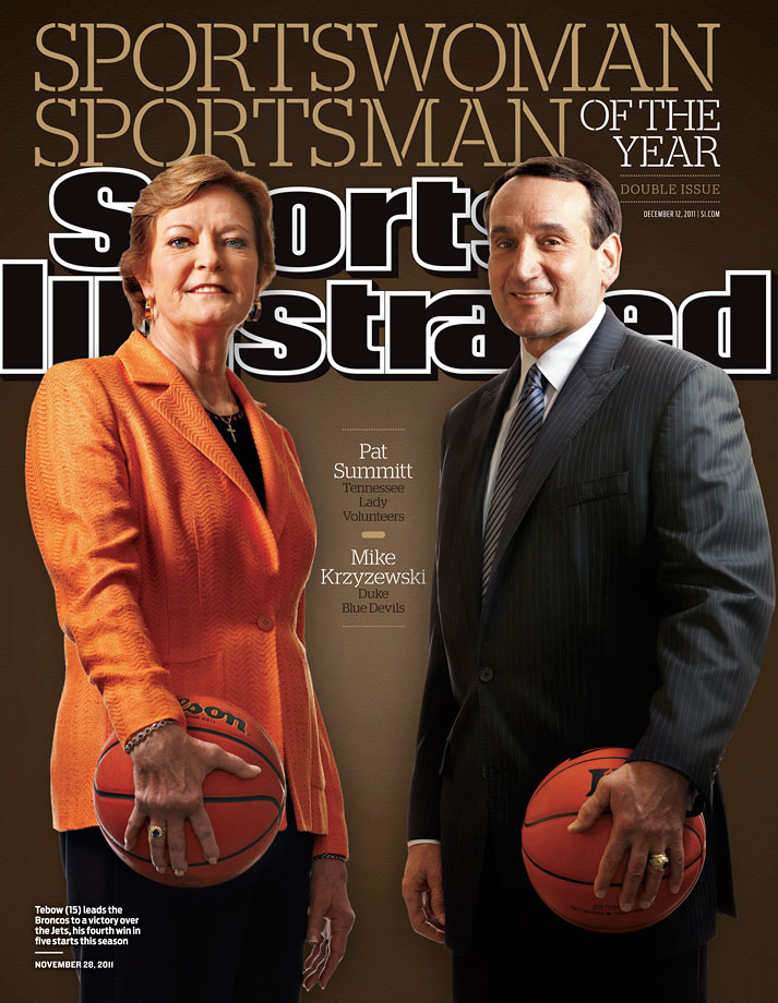Pat Summitt and Mike Krzyzewski