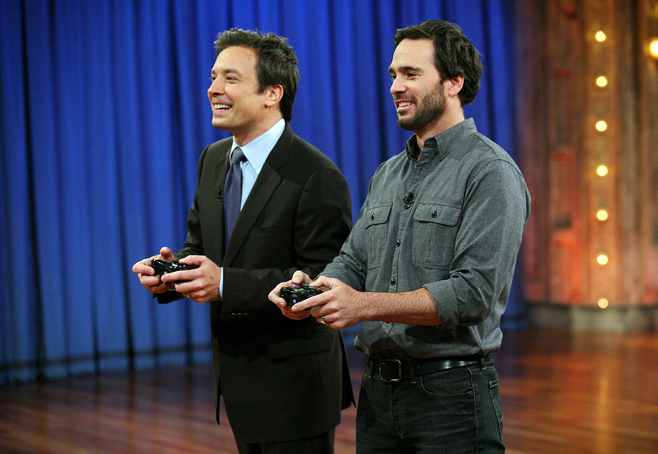 "October 25, 2011 — Filming ""Late Night with Jimmy Fallon"""