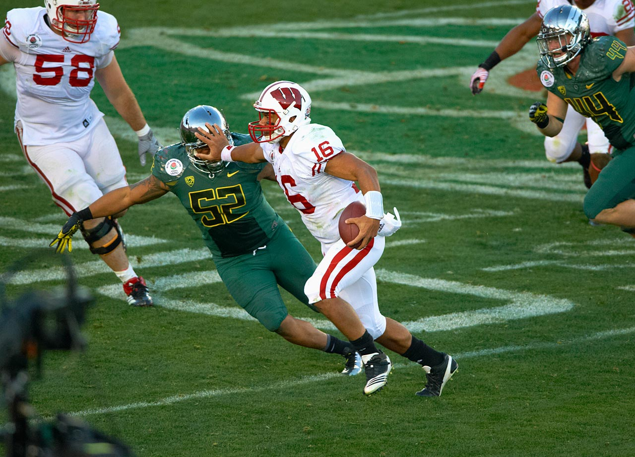 Wisconsin vs. Oregon