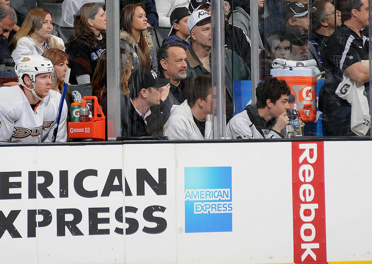 March 3, 2012: Anaheim Ducks at Los Angeles Kings