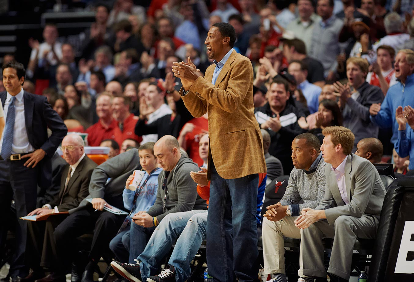 April 12, 2012 — Chicago Bulls vs. Miami Heat
