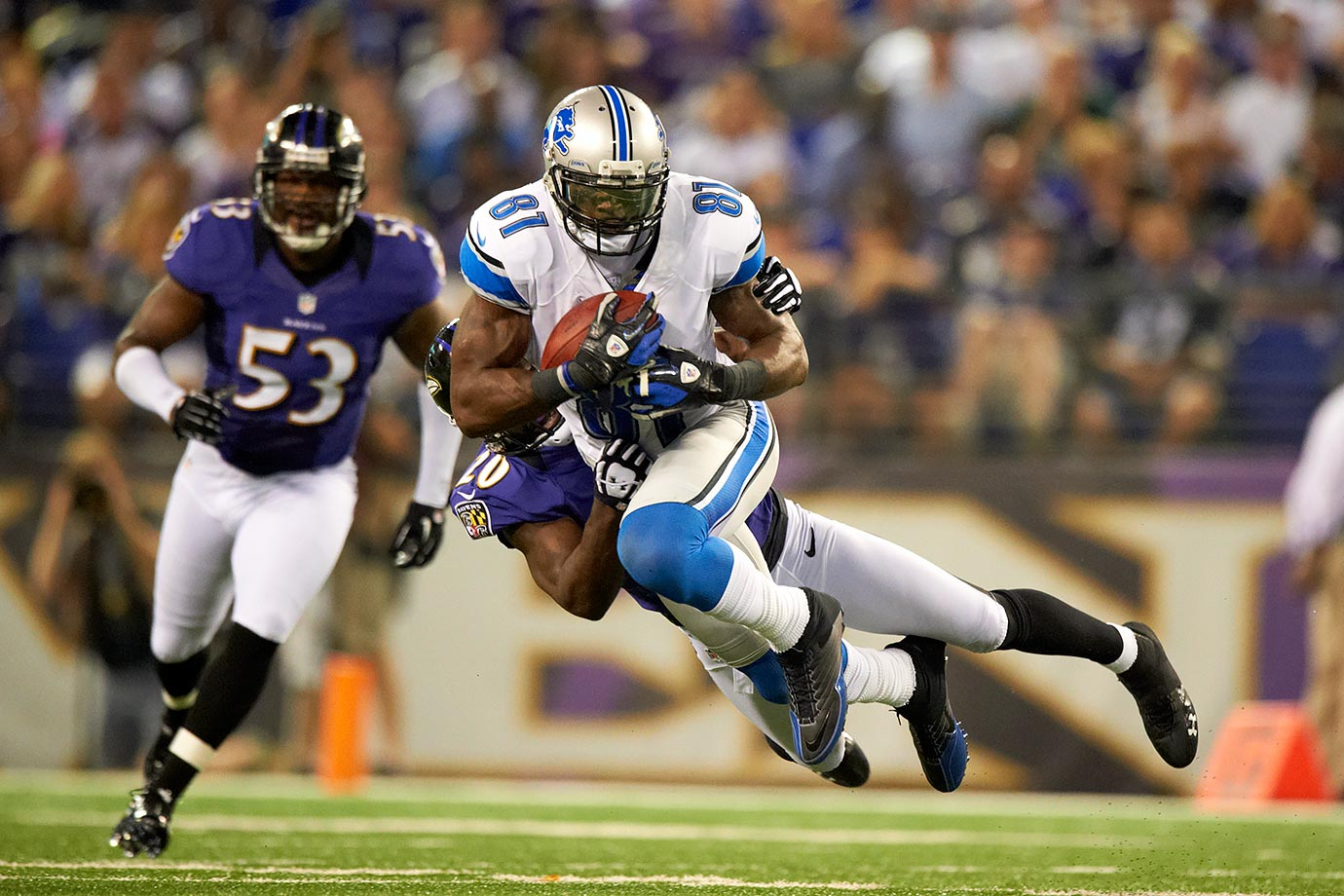 Aug. 17, 2012 — Detroit Lions vs. Baltimore Ravens