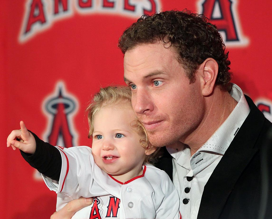 Josh Hamilton and daughter Stella