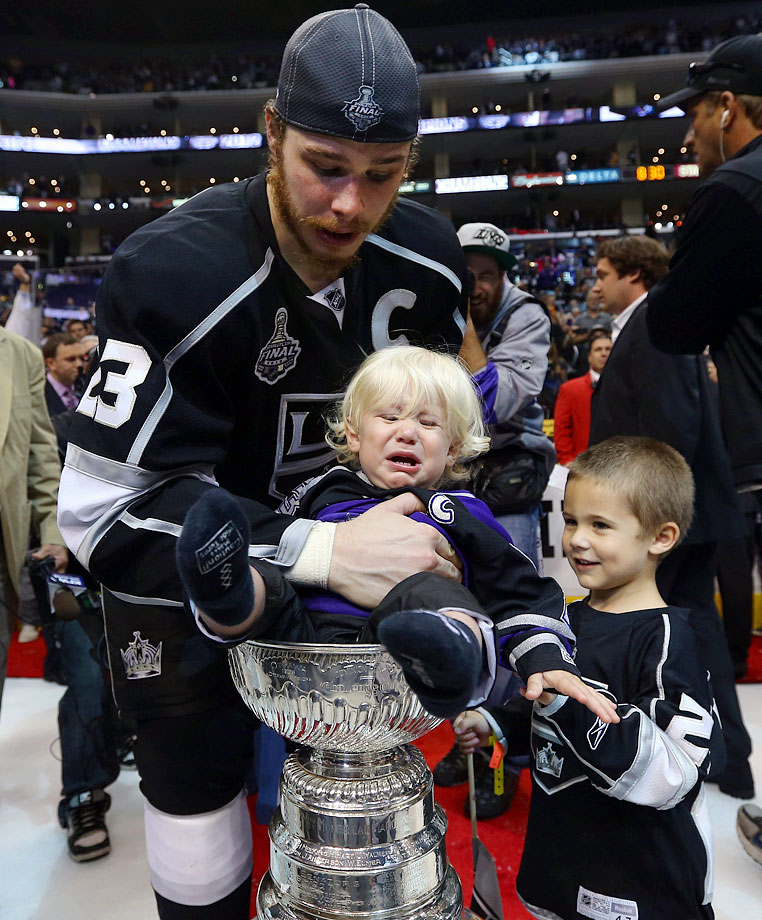 Son of Los Angeles Kings right wing Dustin Brown.