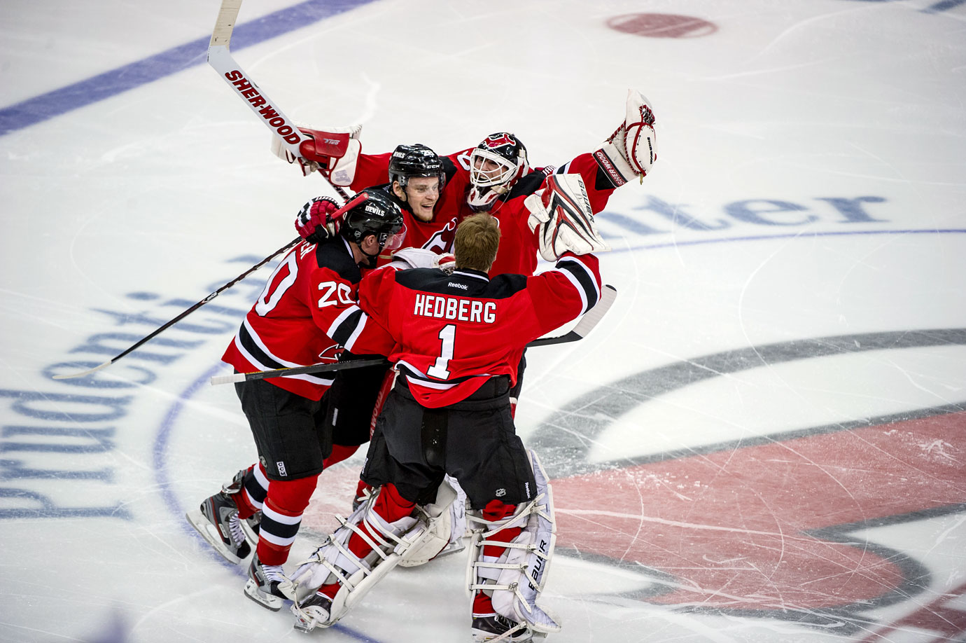 On May 25, 2012, the Devils beat the Rangers 3–2 thanks to Adam Henrique's goal in overtime, sending Brodeur to his fifth Stanley Cup finals appearance. New Jersey lost to the Los Angeles Kings in six games in what would turn out to be the 17th and final postseason of his career.