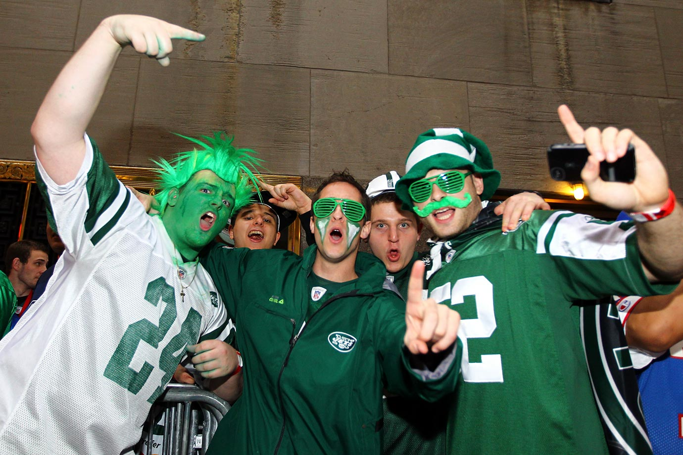 New York Jets fans in 2012.