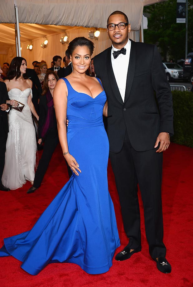 La La and Carmelo Anthony.