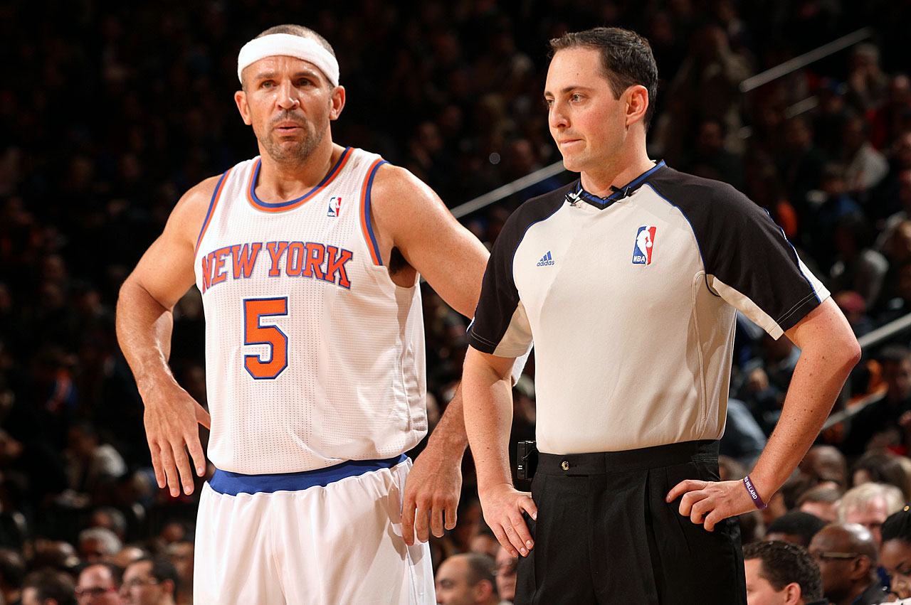 Jason Kidd joined the Knicks at the start of the 2012-13 season. His veteran savvy and improved three-point shot helped the team finish first in the Atlantic Division with a 54-28 record.