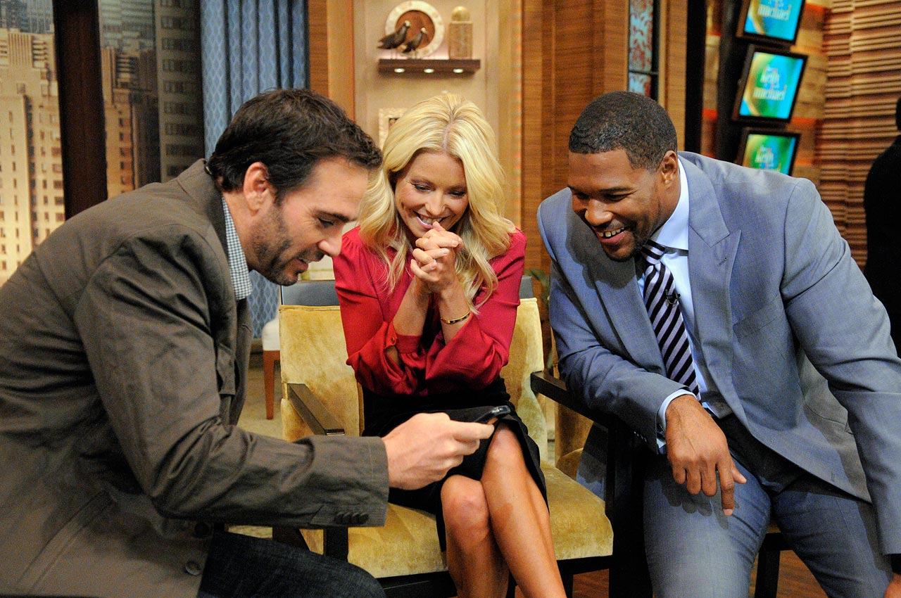 "September 13, 2012 — Filming ""Live! with Kelly and Michael"""