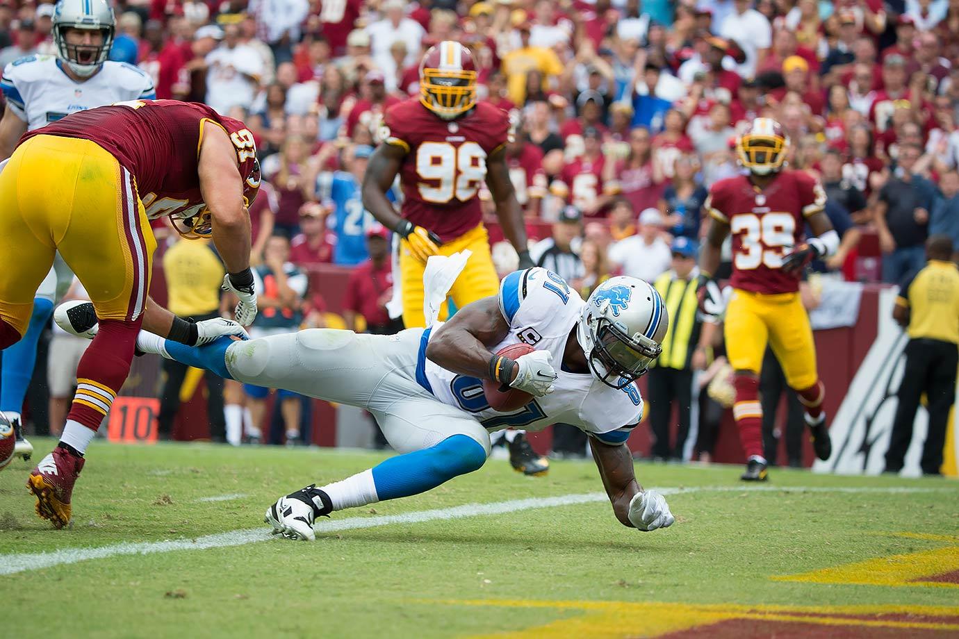 Sept. 22, 2013 — Detroit Lions vs. Washington Redskins