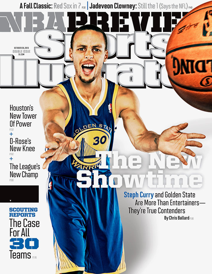 Oct. 28, 2013 Sports Illustrated cover