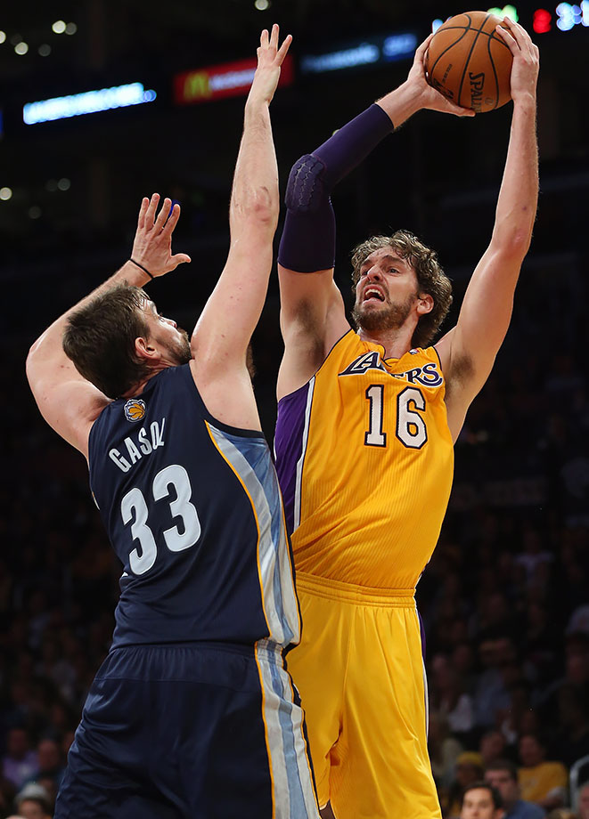 Los Angeles Lakers vs. Memphis Grizzlies