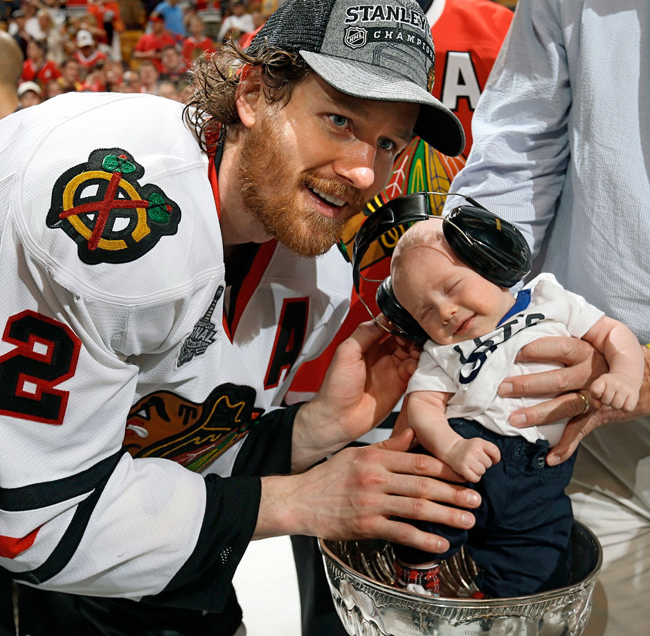 Son of Chicago Blackhawks defenseman Duncan Keith.