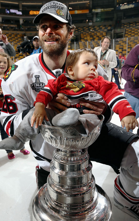 Son of Chicago Blackhawks center Michal Handzus.