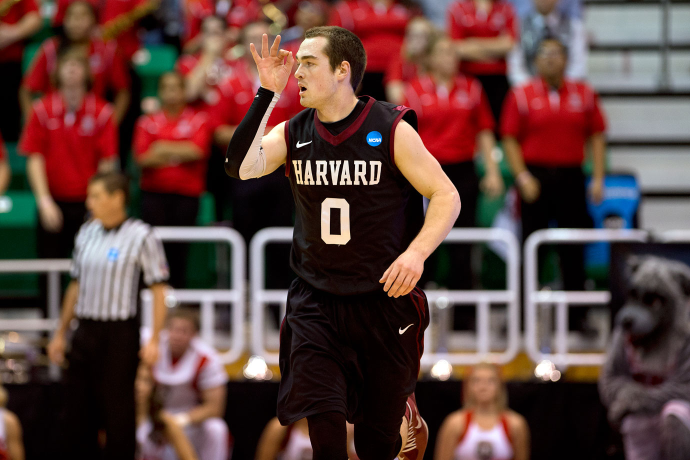 Laurent Rivard scored 17 points, including five threes, to help 14th-seeded Harvard pull off a 68-62 win over No. 3 New Mexico. The Ivy League advanced for the first time since Cornell made the regional semifinals in 2010. It also was Harvard's first NCAA tourney win.
