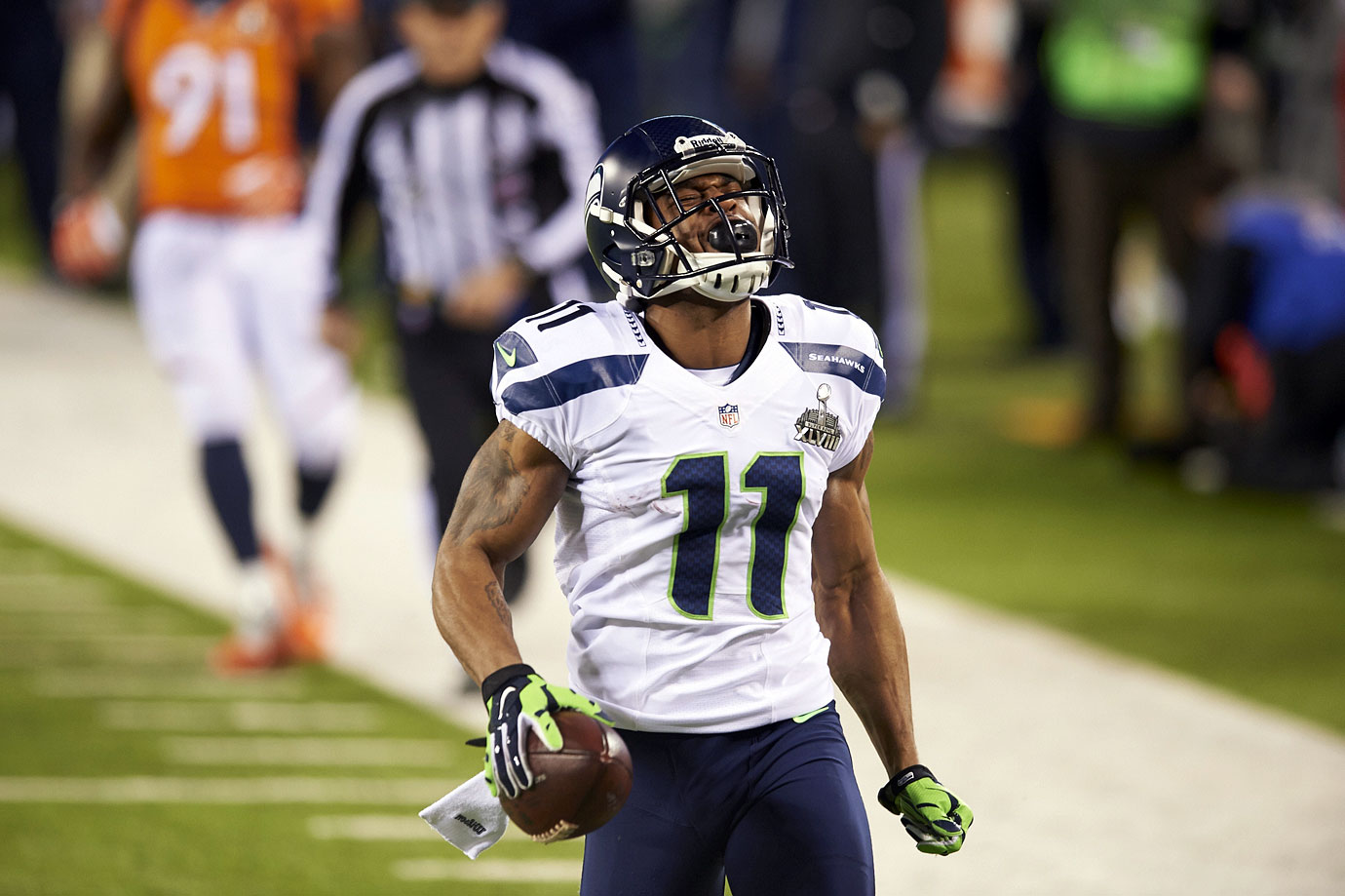 Percy Harvin to the Seattle Seahawks from the Minnesota Vikings for first- and seventh-round picks in 2013 and a third-round pick in 2014 looked like a horrible move by the Vikings at the time of the deal. In hindsight, not so bad. And though the Seahawks won a Super Bowl with Harvin on the field in February 2014, he wore out his welcome and was traded to the New York Jets the following season.