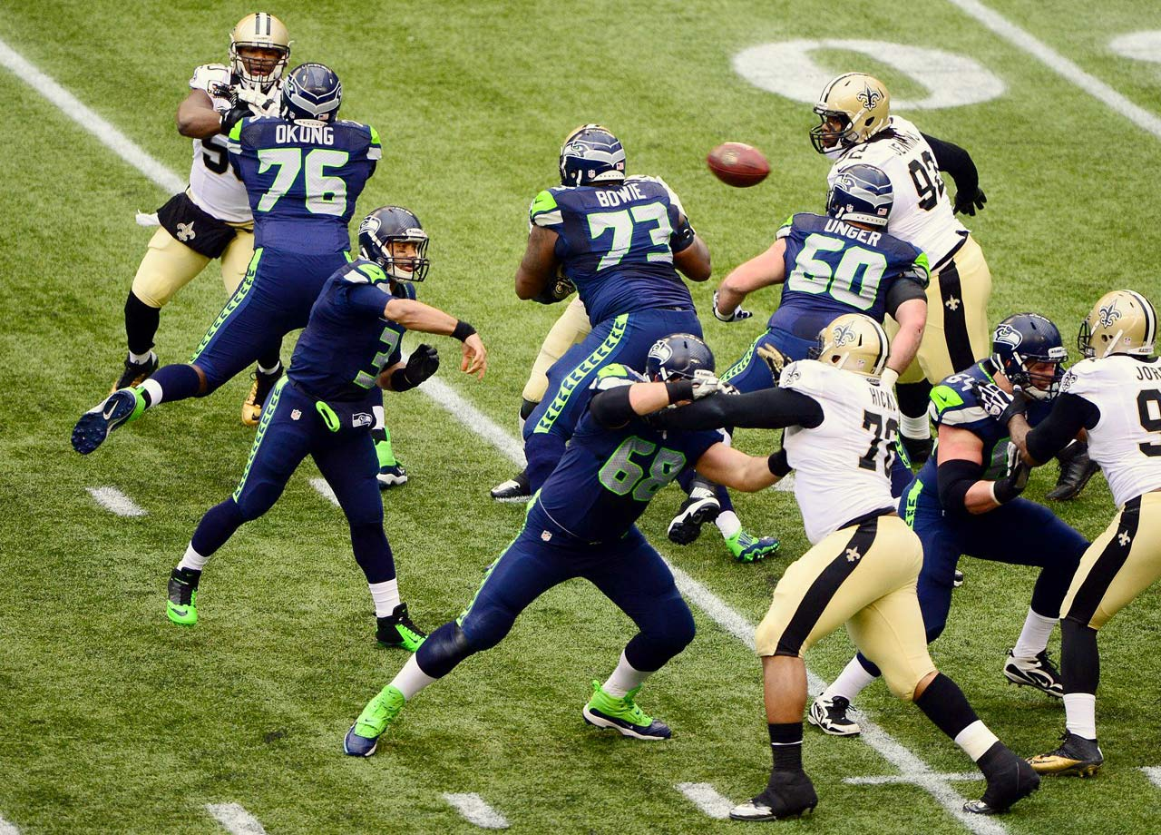 Seattle Seahawks vs. New Orleans Saints