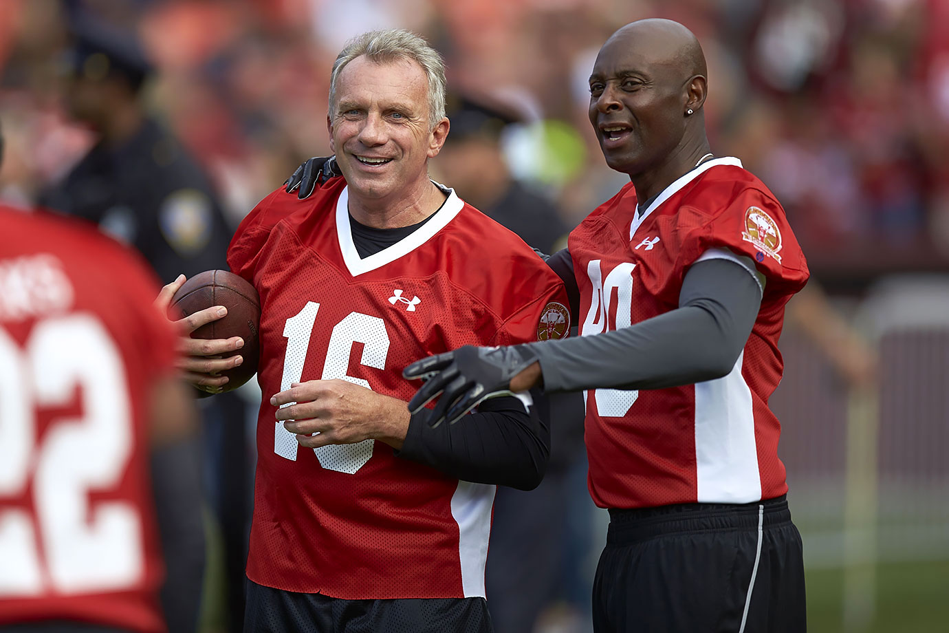 July 12, 2014 — Legends of Candlestick flag football game