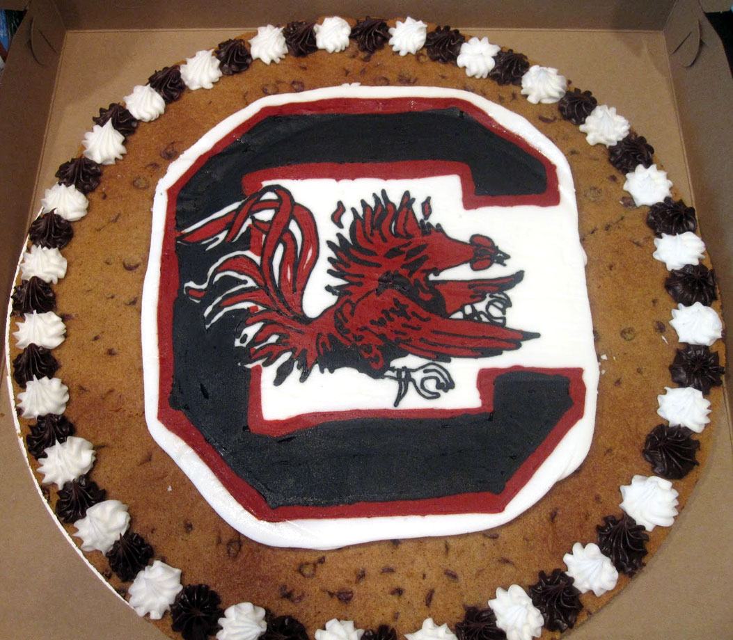 "South Carolina self-reported several NCAA violations last year, including one for impermissible icing on ""cookie cakes"" given to recruits."