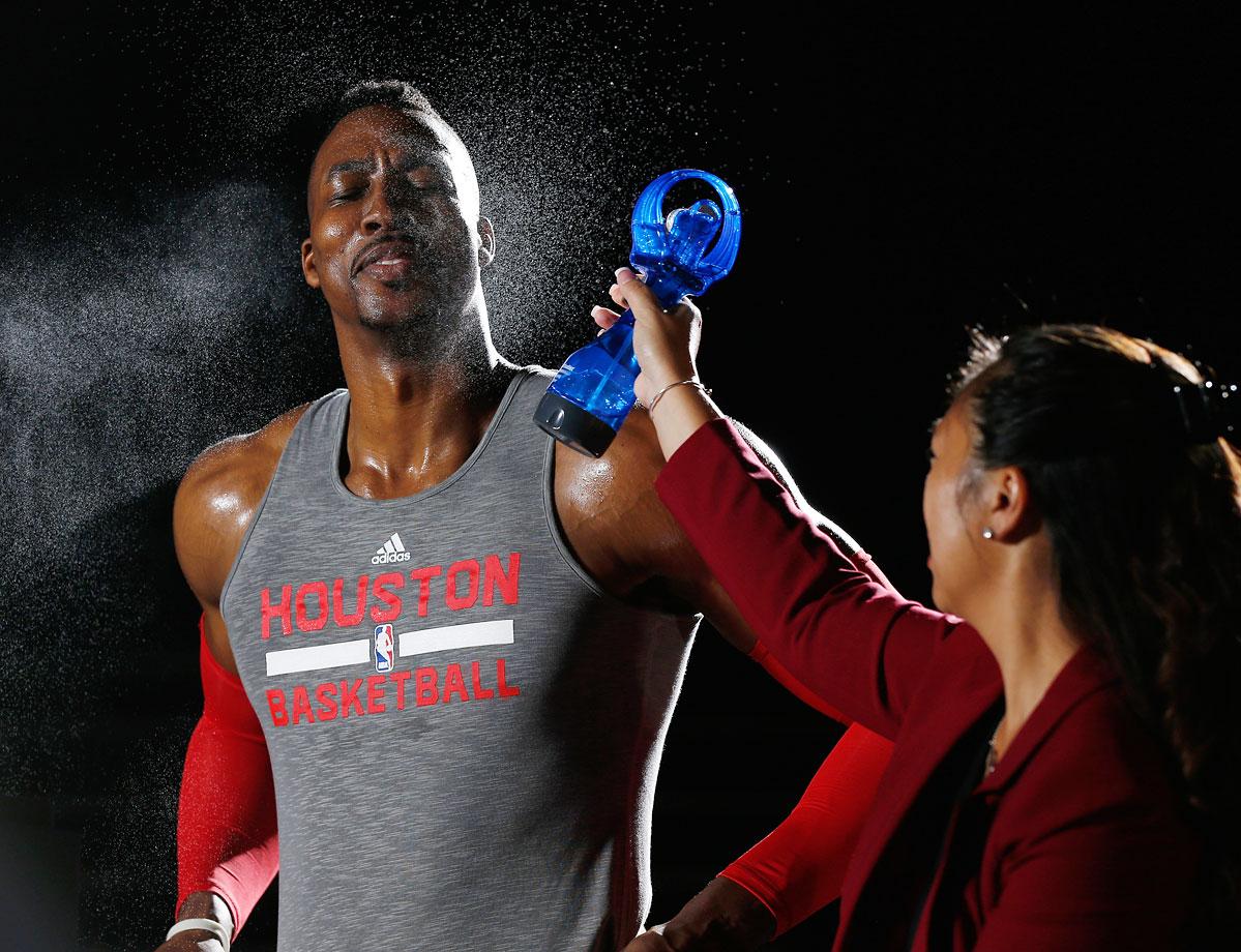 Sept. 29, 2014 — Houston Rockets Media Day