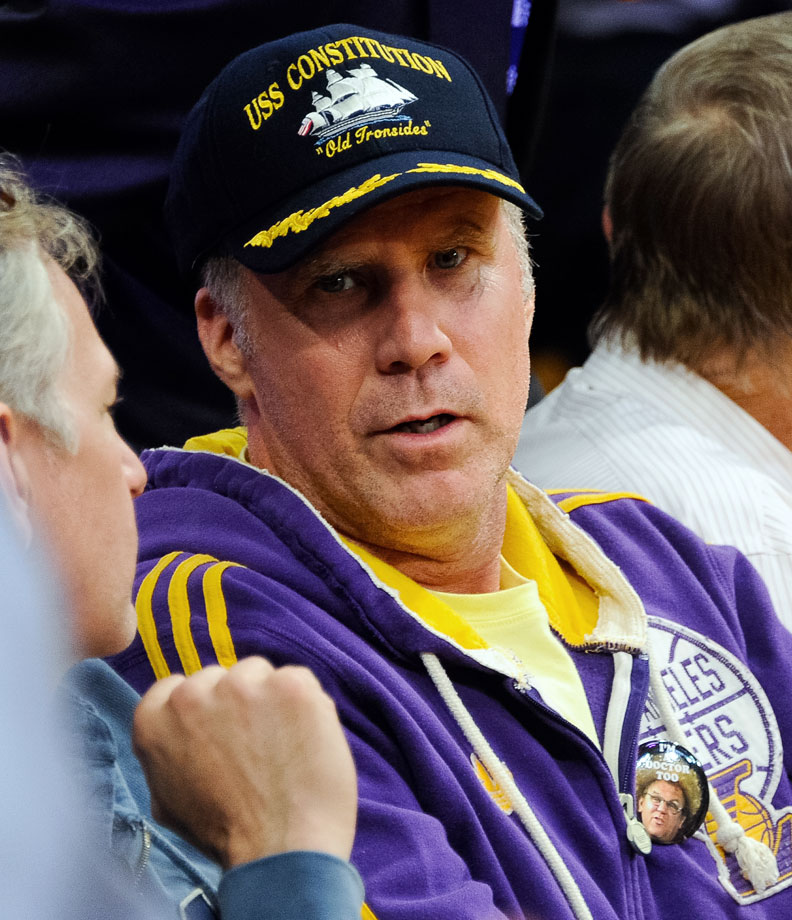 Will Ferrell attends the Los Angeles Lakers game against the Houston Rockets on Oct. 28, 2014 at at Staples Center in Los Angeles.