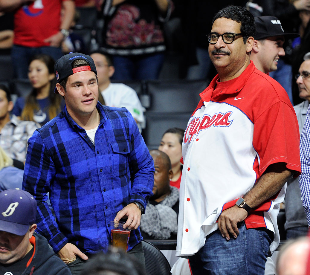 Oct. 30, 2014: Los Angeles Clippers vs. Oklahoma City Thunder at Staples Center in Los Angeles